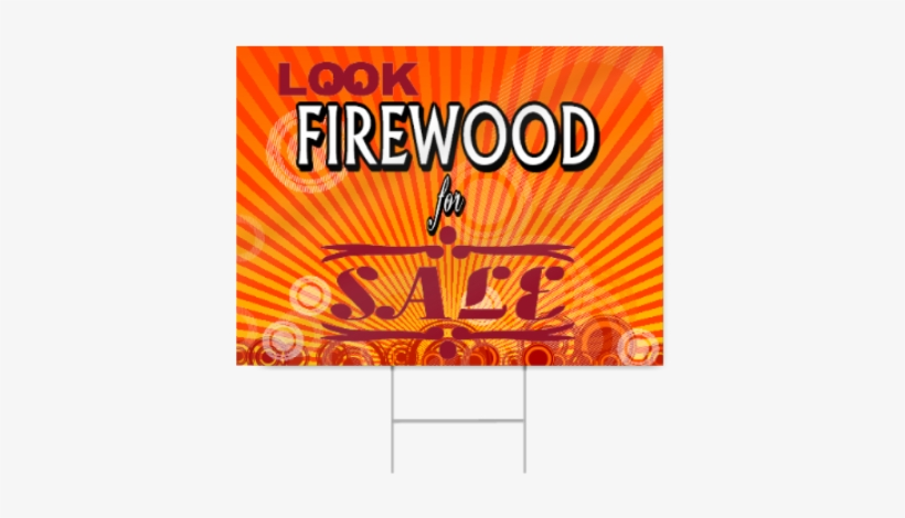 Firewood For Sale Sign - Fall Sale Signs, transparent png #3493263