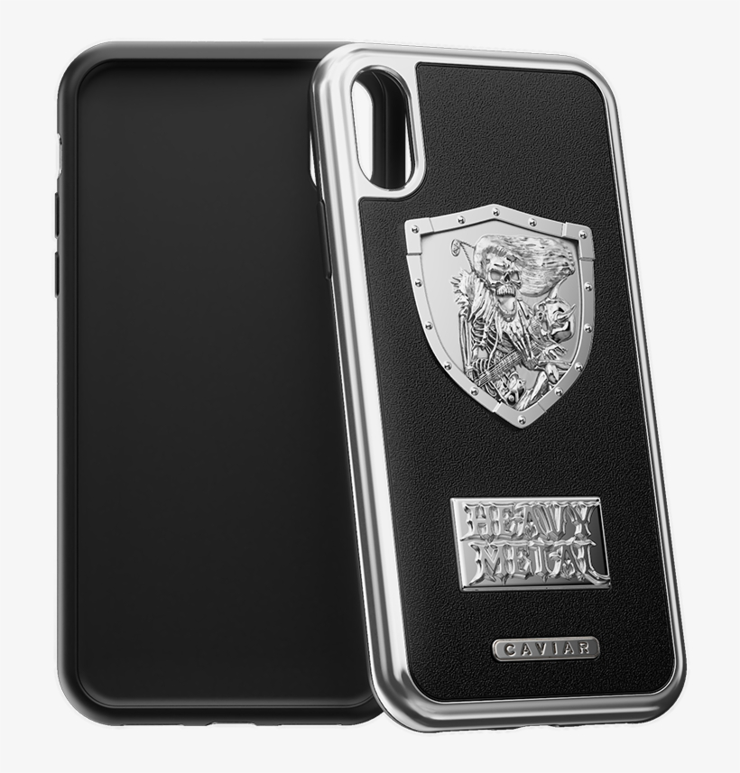 """Iphone X Case """"heavy Metal Leather"""" - Iphone X Case Metallica, transparent png #3494981"""
