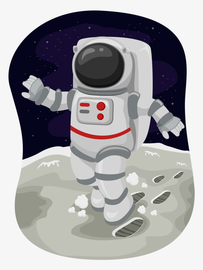 Space Space Party, Space Theme, Space Classroom, Classroom - Moon Walk  Clipart - Free Transparent PNG Download - PNGkey