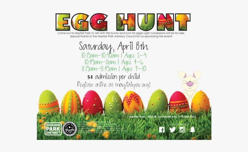 Easter Egg Hunt Png Download - Easter Eggs Free, transparent png #3497791