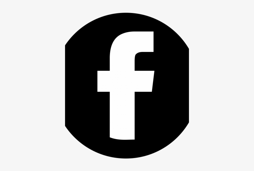 Facebook Black Circle - Facebook Animation, transparent png #3499505