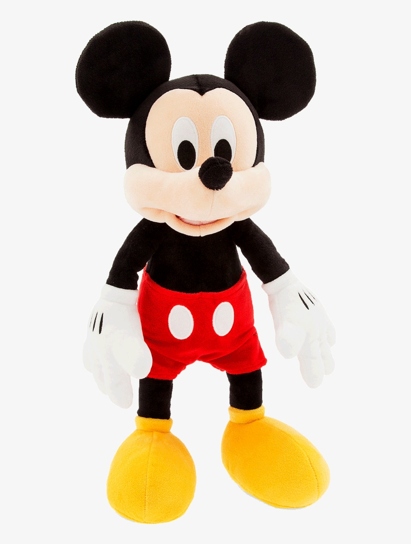 Disney Mickey Mouse - Disney Store Mickey Mouse Plush, transparent png #352596