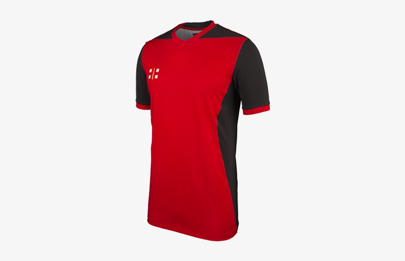 Gray-nicolls Cricket T20 Red Black Main - Cricket Jersey Red And Black, transparent png #352748