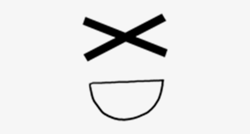 Post Roblox Xd Face Free Transparent Png Download Pngkey