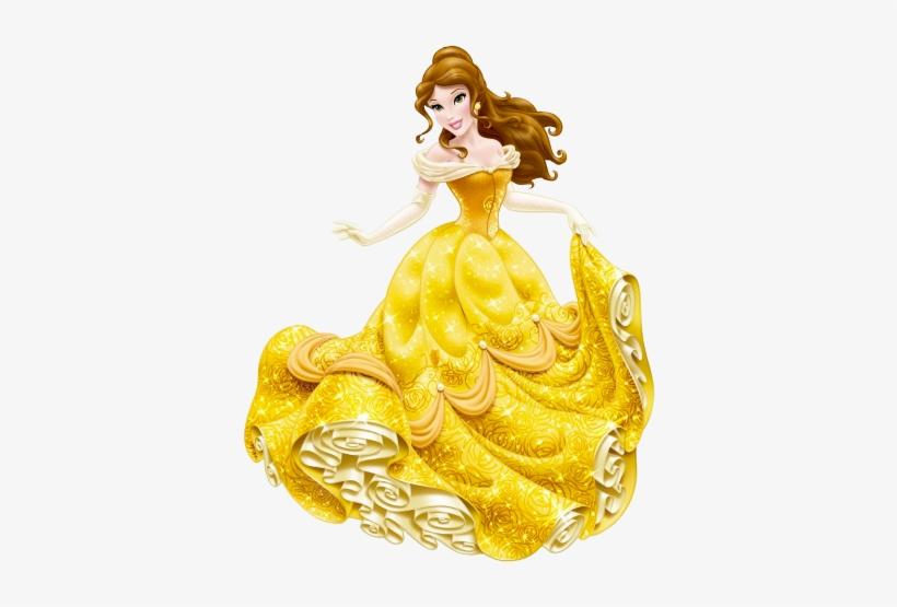 Belle Clipart Bell - Disney Princess Belle Png, transparent png #353340