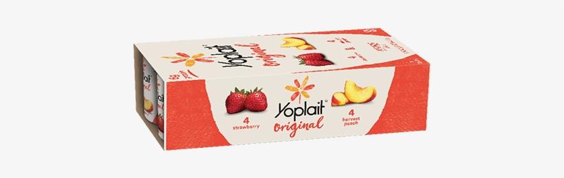 Harvest Peach - Yoplait Yogurt Cup
