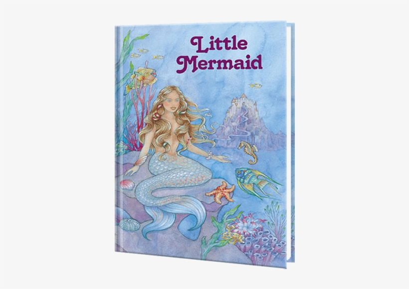 Little Mermaid Personalized Book - Fairy Tale Book The Little Mermaid, transparent png #355708