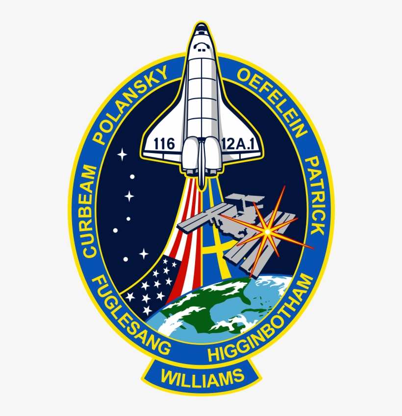 photograph about Printable Nasa Logo referred to as Printable Nasa Emblem - Sts 116 - Free of charge Clear PNG