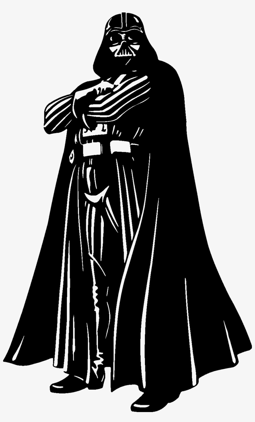 Darth Vader Clipart File - Darth Vader Whos Your Daddy, transparent png #357289