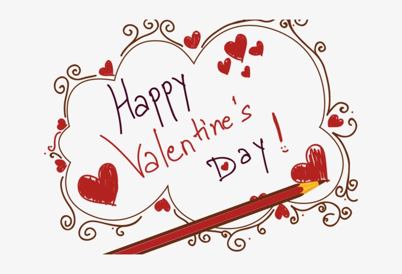Happy Valentine's Day Png Transparent Images - Happy Valentines Day Sticker (oval), transparent png #357660
