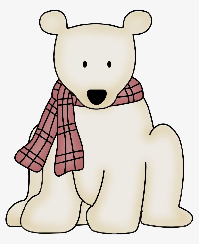 Polar Bear Clipart January Pencil And In Color Polar - Clipart Polar Bear Png, transparent png #357731