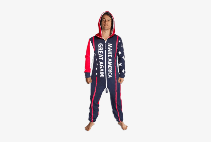 Maga Onesie - Make America Great Again Onesie For Adults, transparent png #357769