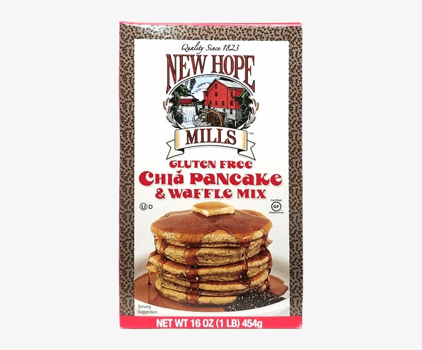 Gluten Free Chia Pancake Mix - New Hope Mills Sugar Free Pancake And Waffle Mix, 9, transparent png #357815