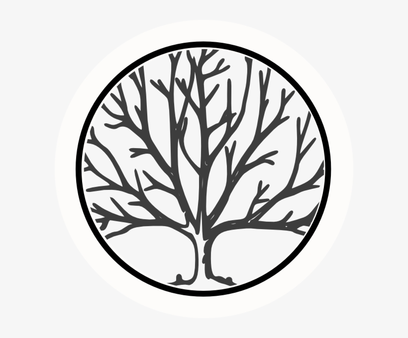 Clipart Transparent Download Black And White Oak Tree