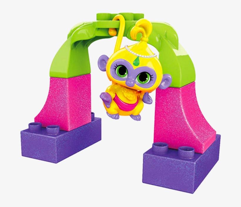 Mattel Mega Bloks Shimmer And Shine Pets - Mega Bloks Shimmer And Shine Pets Assortment, transparent png #359631