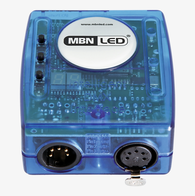 The Mbnled Stand Alone Dmx Controller Consists Of The - Dmx Controller, transparent png #3501515