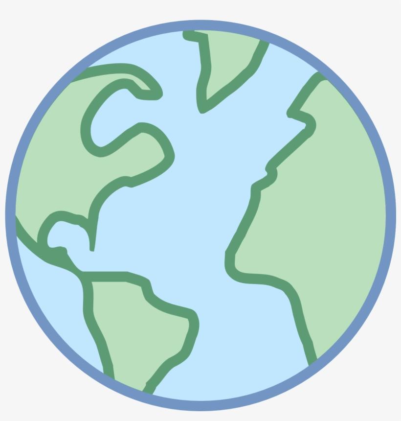 Cenário Atual Da Internet Para Vendas - World Icon Color Png, transparent png #3503454