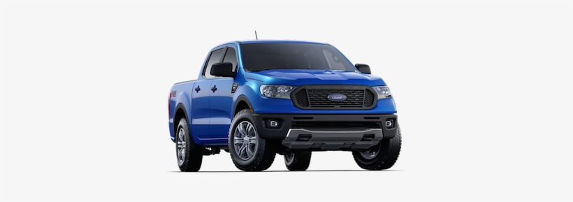 A Blue 2019 Ford Ranger Xl - Ford Ranger, transparent png #3505143