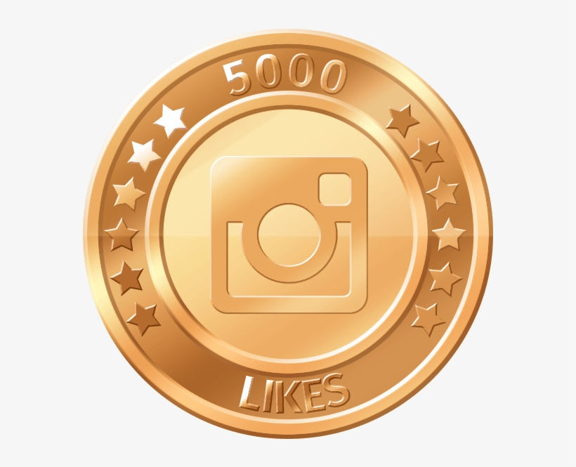 Get 5000 Instagram Likes - Like Button, transparent png #3506588
