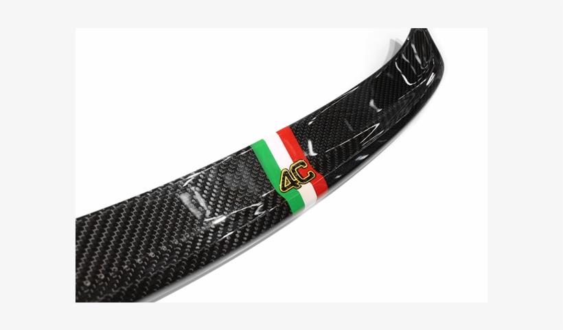 Carbon Fiber Alfa Romeo 4c Coupe Rear Spoiler Wing - Italian