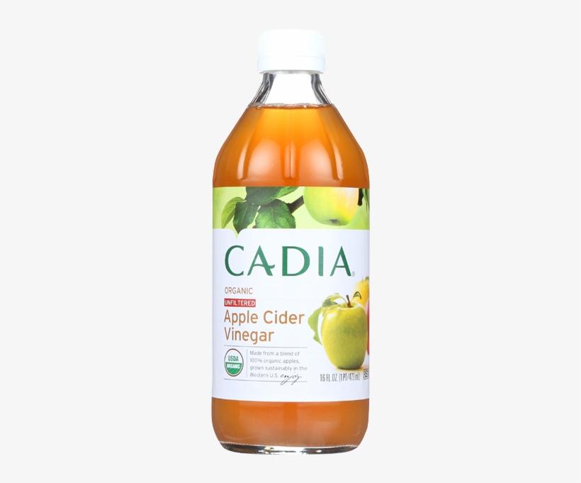 Cadia Organic Unfiltered Apple Cider Vinegar-16 Fl - Cadia Vegetable Green Beans Cut Org Can 14.50 Oz, transparent png #3514206