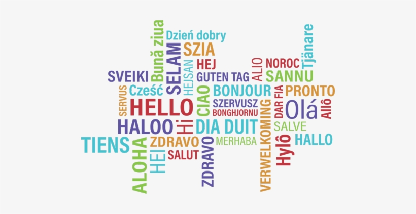 English As A Second Language Program - Hello In Different Languages Png, transparent png #3514246