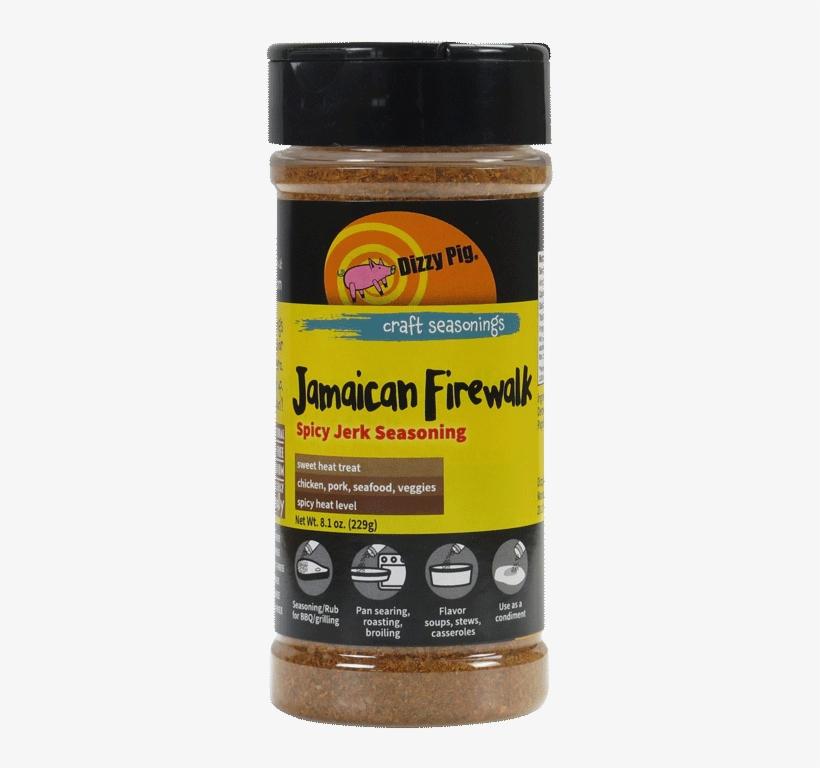 Jamaican Jerk Seasoning - Dizzy Pig Ipa Hop-infused Craft Seasoning Blend - 6.9, transparent png #3514852