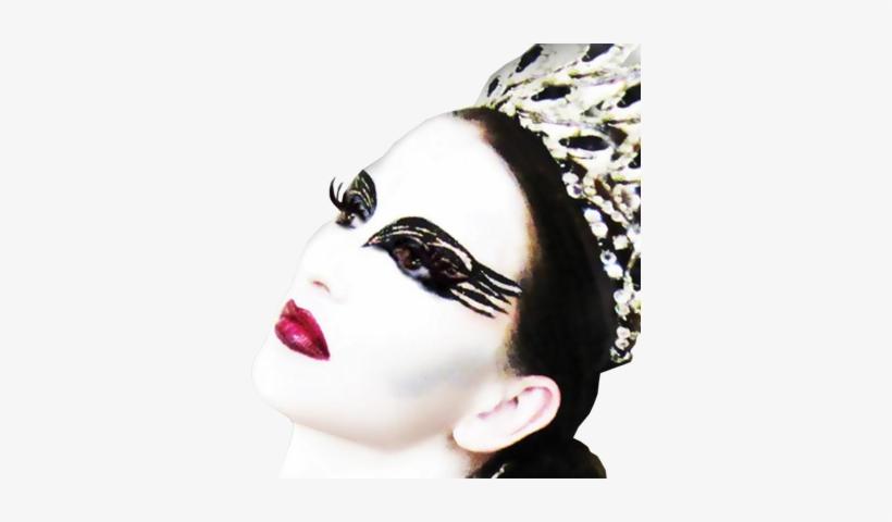 Official Psds Black Models - Xotic Eyes Black Swan Eye Kit, Black Swan Glitter Make, transparent png #3516459