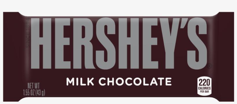 Hersheys Milk Chocolate - 1.55 Oz, transparent png #3518632