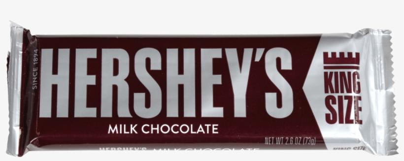 Hershey's King Size Milk Chocolate Bar - Hershey's Milk Chocolate (king Size), transparent png #3518654
