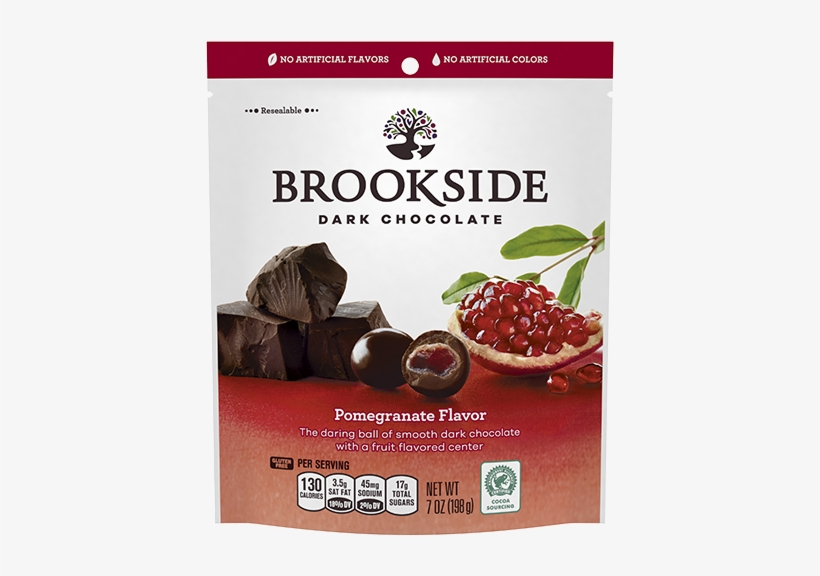 Lawsuit Filed Against Hershey Over Artificial Ingredients - Brookside Dark Chocolate Pomegranate Flavor 21 Oz, transparent png #3518806
