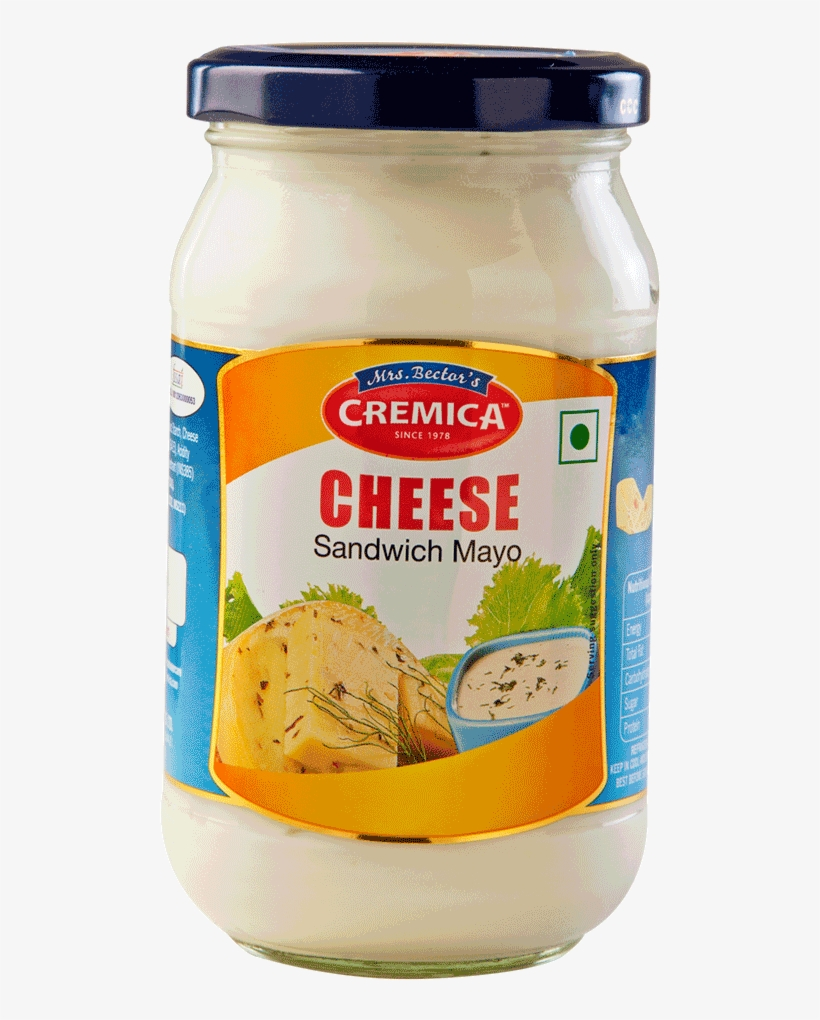 Cheese Sandwich Mayo 1 - Cheese Sandwich Spread Cremica, transparent png #3519017