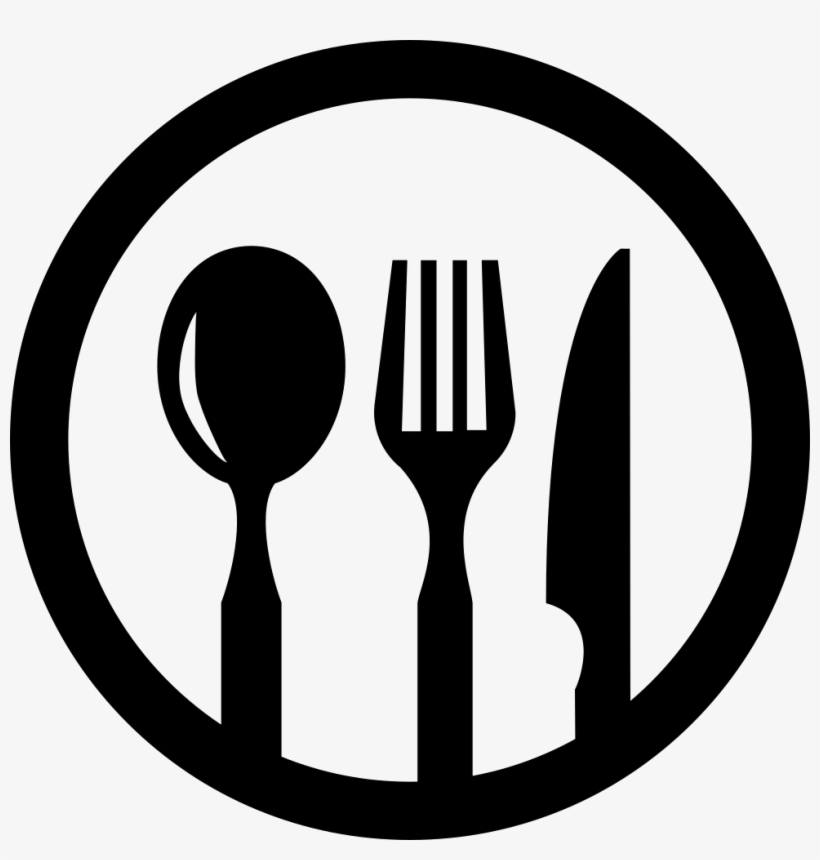 SaksaS: Transparent Fork And Spoon Logo