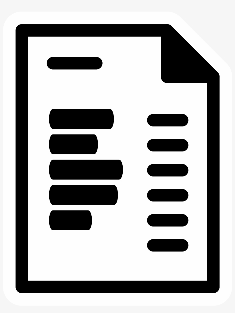 This Free Icons Png Design Of Primary Template Invoice