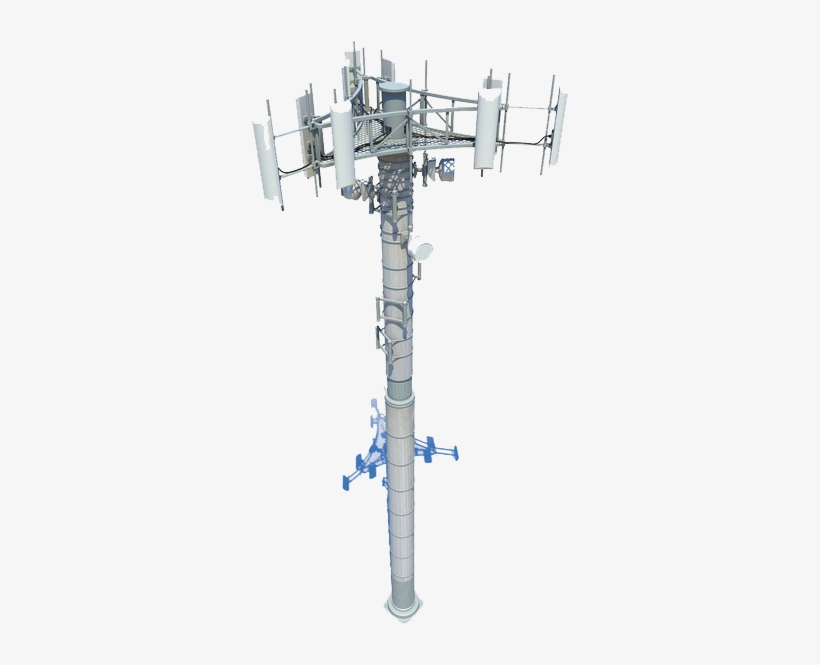 Accueil Cell Tower Png - Cell Tower Visio - Free Transparent