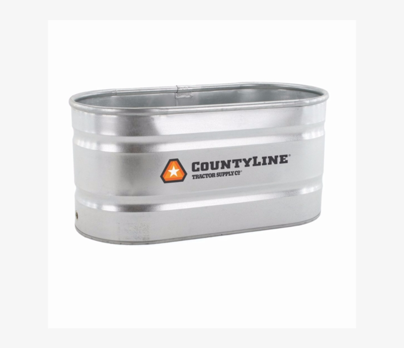 Countyline Round End Stock Tank, 2 Ft. X 1 Ft. X 6, transparent png #3528685