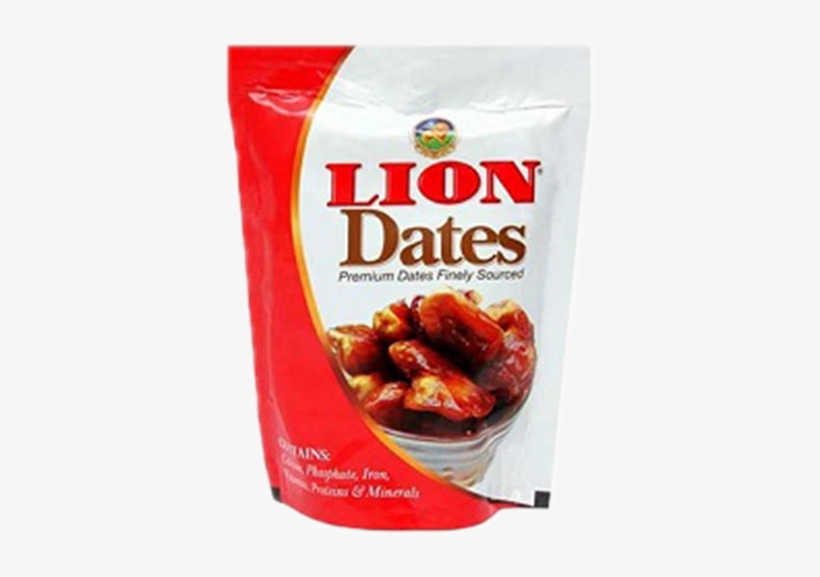 Lion Dates Arabian Seeded, 500g (buy 1 Get 1 Free), transparent png #3533929