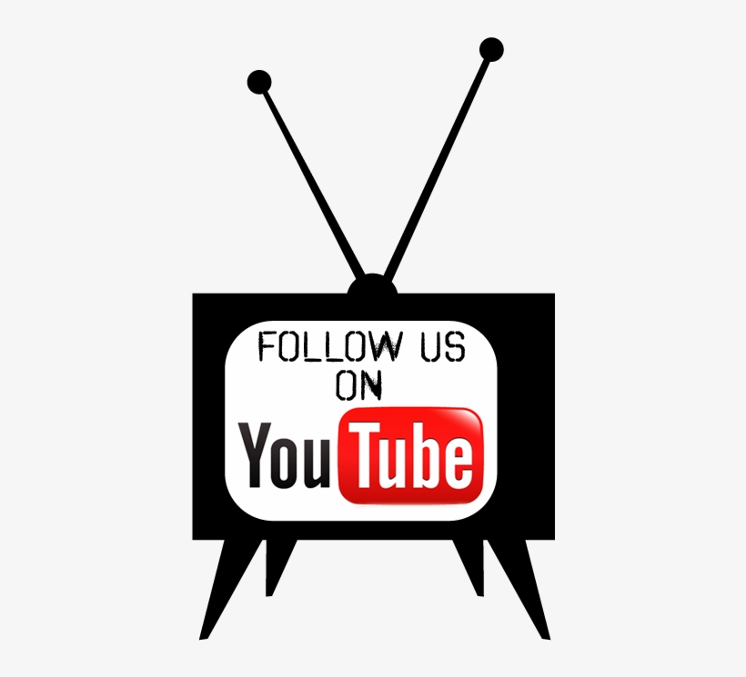 Find Us On Youtube - Follow Us Youtube Png, transparent png #3534609