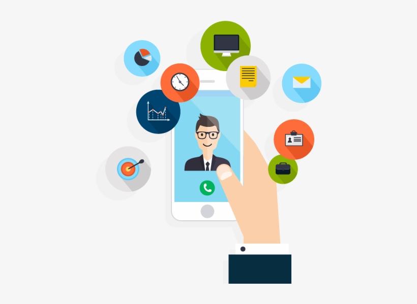 Facebook App And Page Design - App Marketing Png - Free Transparent