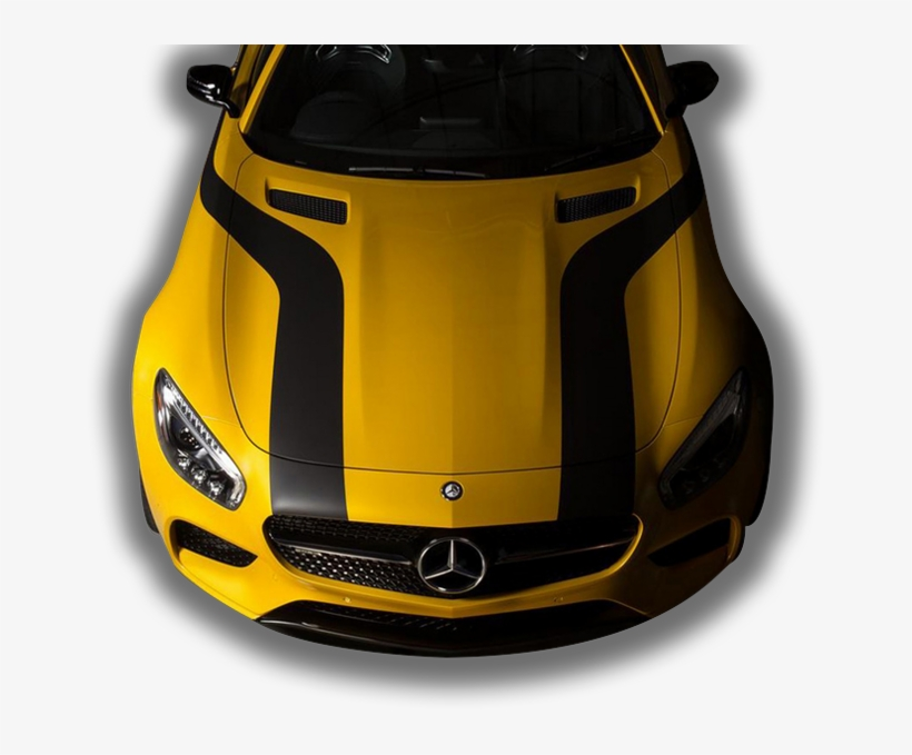 Luxury Cars As Good As New, Just For You - Mercedes-benz Amg Gt, transparent png #3537338