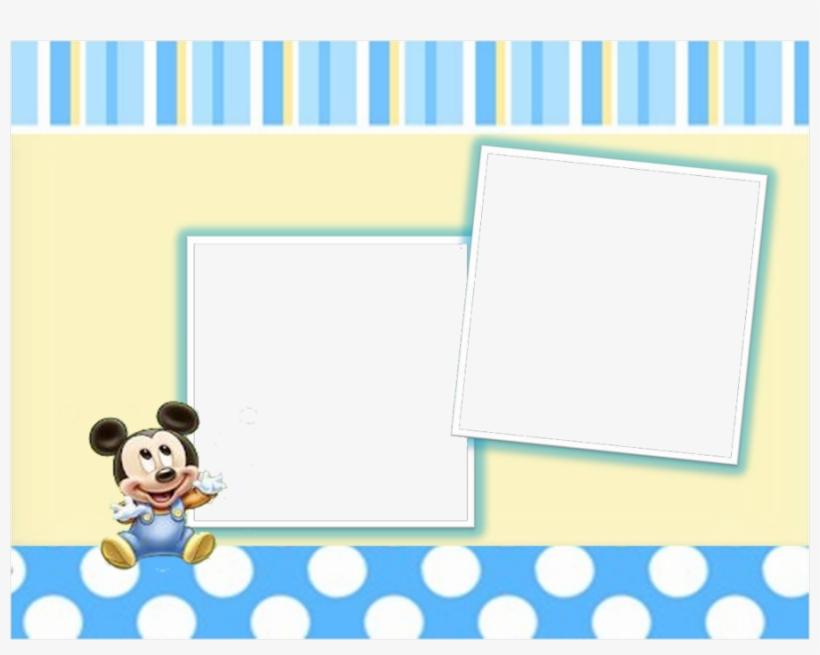 Download Marco Para Foto De Mickey Bebe Png Clipart Disney
