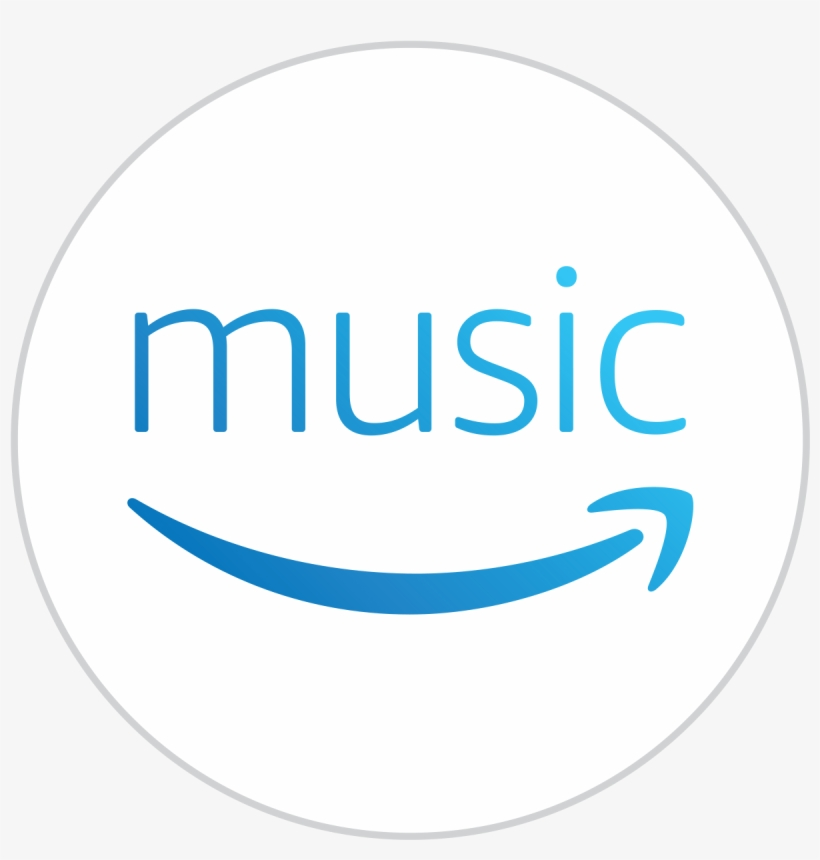 Amazon Music Subscribers Can Enjoy Unlimited, Ad-free - Music Streaming Services Logo, transparent png #3540319