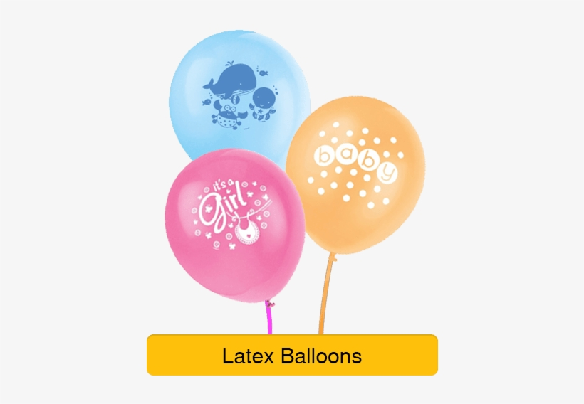 Baby Shower Decorations - Baby Shower Balloon Png, transparent png #3542212