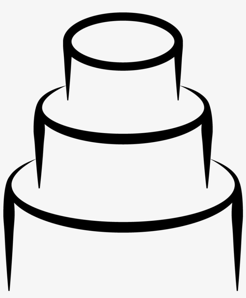 Desenho De Bolo Preto E Branco Free Transparent Png Download