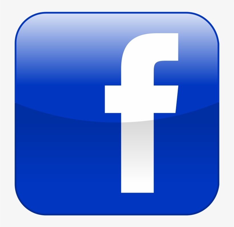Like Us On Facebook, Twitter And Instagram @easthaddamsd - Shiny Facebook Logo Png, transparent png #3543490