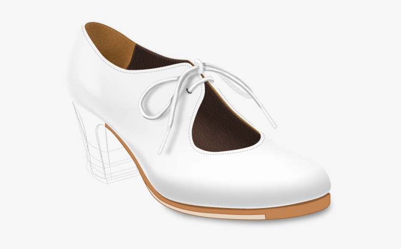 Configura Tus Zapatos Flamencos - Zapato Para Baile Flamenco Para Mujer En Color Blanco, transparent png #3544575