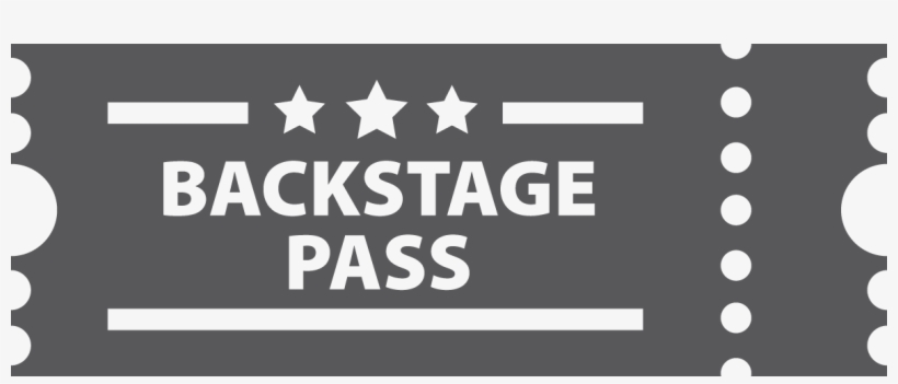 Download Backstage Png - Backstage Pass PNG Image with No