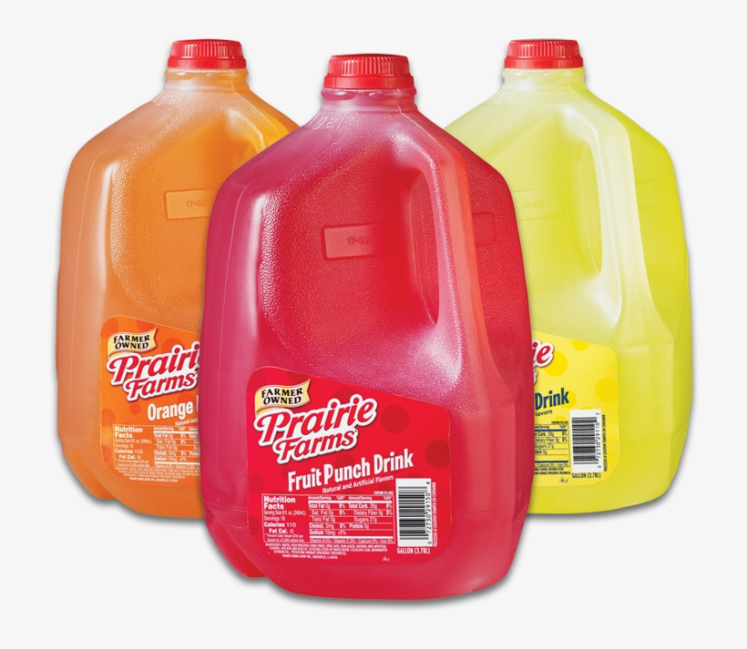 Fruit-punch - Prairie Farms Fruit Punch, transparent png #3549462