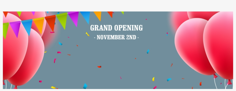 Grand Opening Facebook Banner2 - Strand Home Video, transparent png #3551944