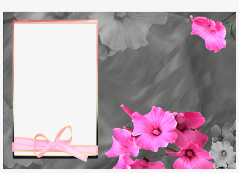 Marco Clasico De Flores Rosas - Happy Birthday Good Quotes Boss, transparent png #3554371